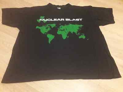 Nuclear Blast Records 90s Vintage Shirt Heavy Metal Slayer Cradle Of Filth