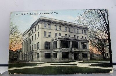 West Virginia WV Charleston YMCA Building Postcard Old Vintage Card View Post PC