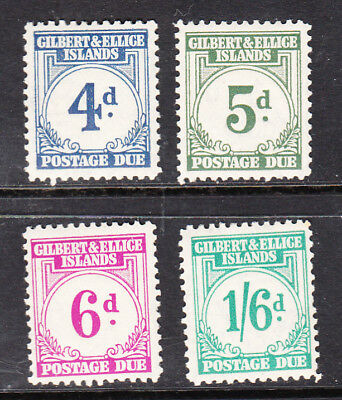 Gilbert & Ellice Islands - Postage Dues - Mint/very Lightly Hinged - See Scan!