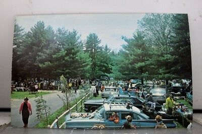 New Hampshire NH Amherst Outdoor Antiques Market Postcard Old Vintage Card View