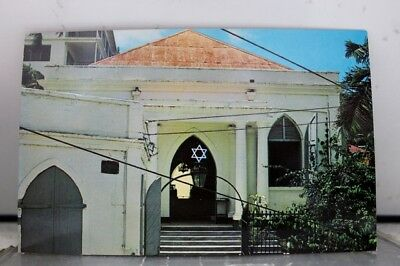 Virgin Islands St Thomas Synagogue Postcard Old Vintage Card View Standard Post
