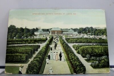 Missouri MO St Louis Shaw's Garden Opening Day Postcard Old Vintage Card View PC