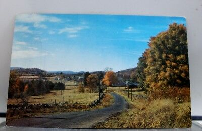 New Hampshire NH Rumney Depot Bible Conference Greetings Postcard Old Vintage PC