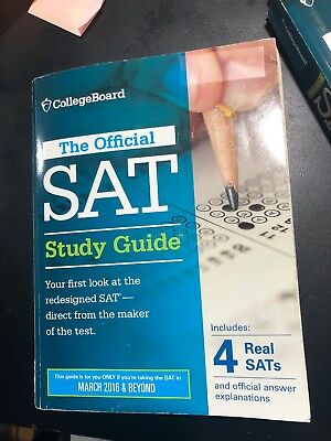 The Official SAT Study Guide : 2016 Edition by College Board Staff (2015,...