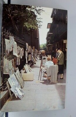 Louisiana LA New Orleans Pirate's Alley Postcard Old Vintage Card View Standard