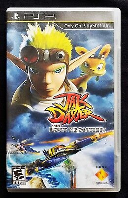 Jak & Daxter: The Lost Frontier (Sony PSP) Cleaned & Tested! FREE SHIPPING!