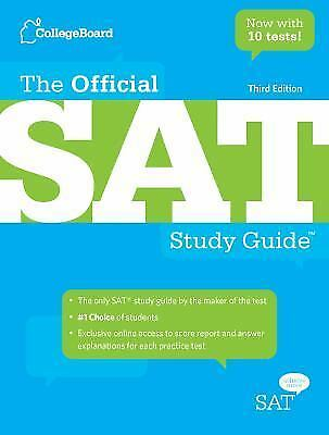 The Official SAT by College Board Staff (Paperback, Study Guide)