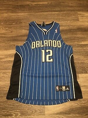 fa4490f7a053 Dwight Howard Orlando Magic  12 Adidas Embroidered Jersey Adult size 48