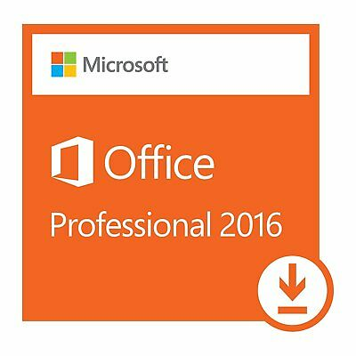 Microsoft Office 2016 Pro Professional Plus Genuine License Key Product Code