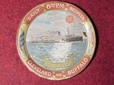CLEVELAND and BUFFALO~ C & B LINE~TIP TRAY