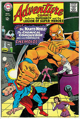 ADVENTURE COMICS ISSUE 362 BY DC COMICS fn-