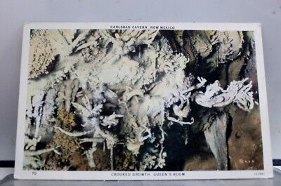 New Mexico NM Queens Room Carlsbad Cavern Postcard Old Vintage Card View Post PC