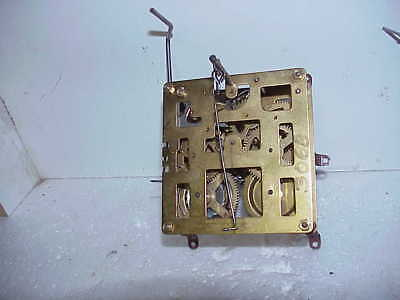 Vintage Used 8 Day Hubert Herr Cuckoo Clock Movement for Restoration parts rep A