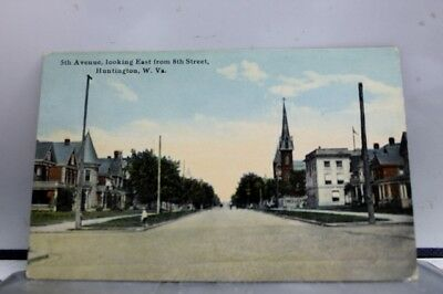 West Virginia WV Huntington Postcard Old Vintage Card View Standard Souvenir PC
