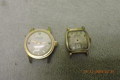 Vintage Hamilton 987-f 17 jewel Gold Filled Wristwatch x-2