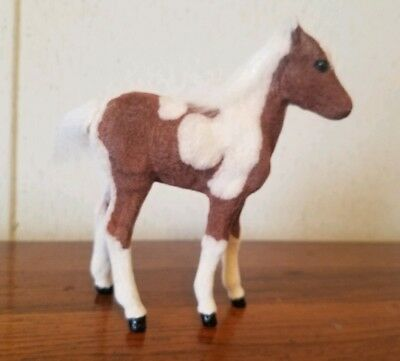 Vintage Breyer Riegseckers FLOCKED Stormy, Misty of Chincoteague's foal CUUUTE!!