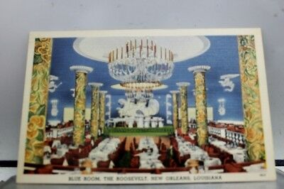 Louisiana LA the Roosevelt New Orleans Postcard Old Vintage Card View Standard
