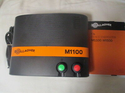Gallagher M1100 Fence Energizer 11 Joule