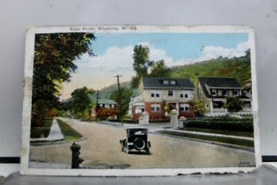 West Virginia WV Echo Point Wheeling Postcard Old Vintage Card View Standard PC