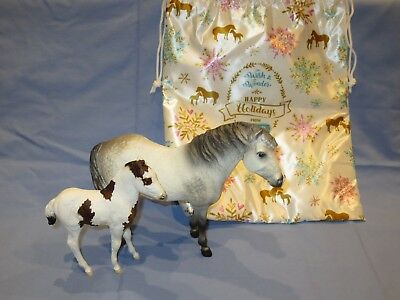 Breyer 2018 Christmas SR - Wish and Wonder - Chincoteague pony Misty and Stormy