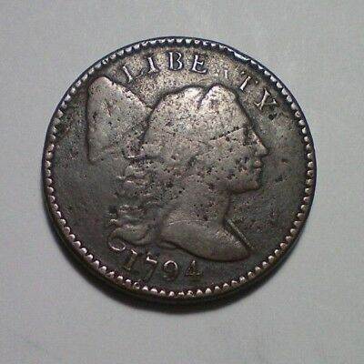 1794 Flowing Hair Large Cent Fine Detail