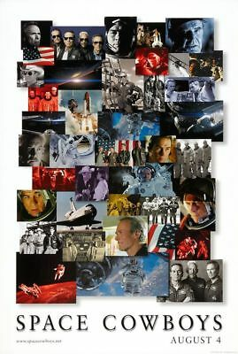 SPACE COWBOYS great original 27x40 D/S movie poster LAST ONE (th038)