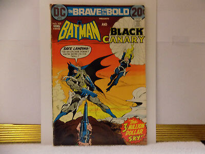 Brave And The Bold #107 (1973) 5.5 VG DC Key Issue Comic Batman Black Canary