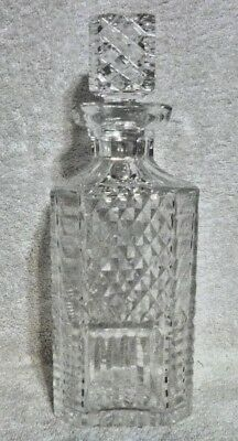 Waterford Crystal Square Decanter with Stopper