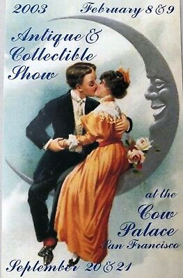 Antique & Collectible Show 2003 at the Cow Palace San Francisco Postcard