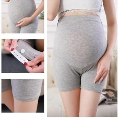 Women High Waist Maternity Underwear Pants Adjustable Pregnant Panties DS