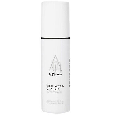 NEW Alpha H Cleansers Triple Action Cleanser 200ml