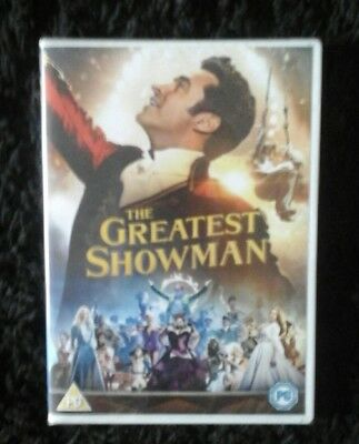 The Greatest Showman DVD - Brand New Sealed