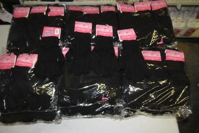 Joblot 293 Magic Gloves One Size Fits All Black Unisex