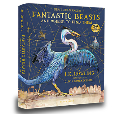 Fantastic Beasts and Where to Find Them Illustrated Edition 9781408885260