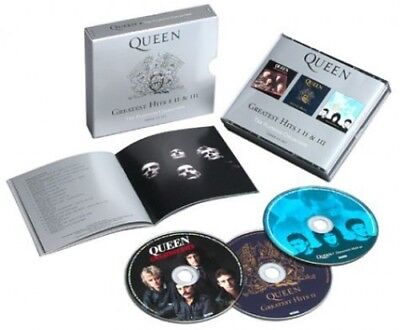 Queen - Greatest Hits I Ii and Iii CD (3) Hollywood NEW