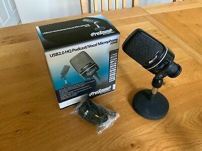 ProSound USB2.0 HQ Podcast/Vocal Microphone A99JB - Boxed, Hardly Used