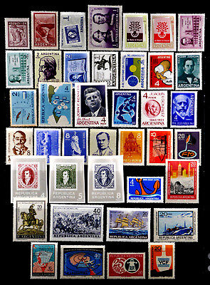 Argentina: 1961-8 Mint Never Hinged Stamp Collection With Sets
