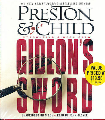 Audio book - Gideon's Sword by Douglas Preston & Lincoln Child   -   CD