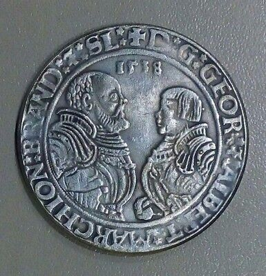 coin Thaler 1538 Germany