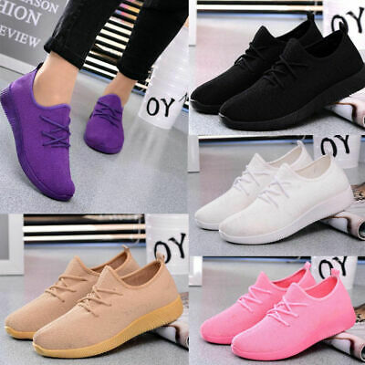 Women Breathable Mesh Sports Shoes Casual Athletic Outdoor Running Sneakers AU