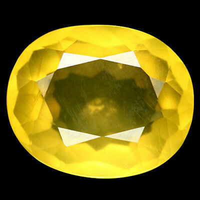 10.64 Ct Natural! Yellow Mexican Opal Oval