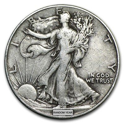 Silbermünze Walking Liberty Halves Silber Münze 1935 - 1947 USA Half Dollar Circ