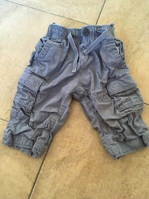 GAP Baby Boys Cargo Trousers 6-12 Months