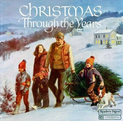Christmas Through The Years (Various Artists) 6 Lps! Premium Used Lp (Nm/Ex)