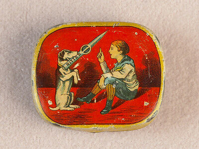 2 pc. Vintage Phonograph Gramophone Needle Tin Ritter
