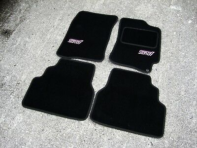 Tailored Subaru Impreza (2001-2007) Car Mats + STi Logos (x2) - Colour Choice!