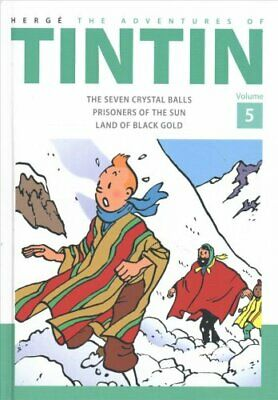 The Adventures of Tintin Volume 5 by Herge 9781405282796 (Hardback, 2015)