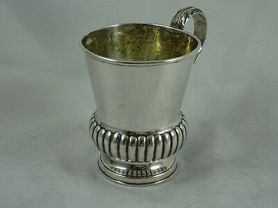 INDIAN, early 19th CENTURY , solid silver CHRISTENING MUG, c1835, 151gm - MADRAS
