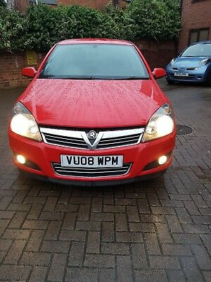 Vauxhall Astra SXI twinport Low mileage long mot 2008 2 owners