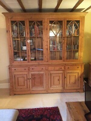 Large antique display cabinet Handmade.